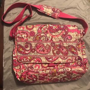 Vera Bradley Messenger Laptop Bag